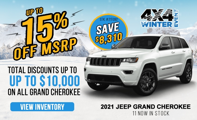 View Grand Cherokee Offers