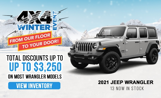 Jeep Wrangler discounts and offers